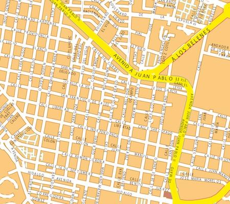 mapa guadalajara zoom