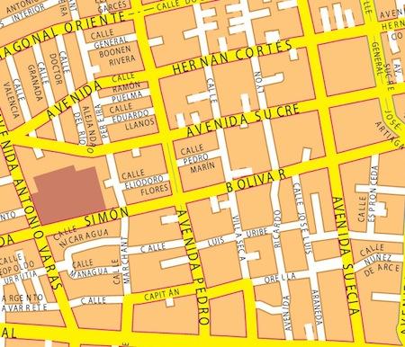 mapa monterrey zoom