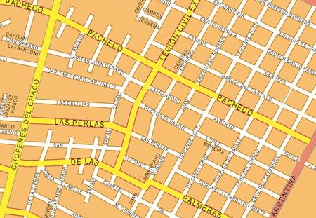 mapa mural asuncion