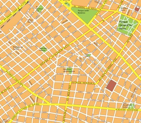 mapa mural buenos aires
