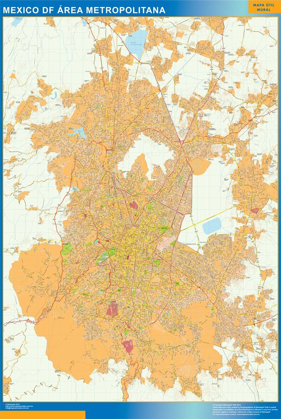 Mexico df Mapa