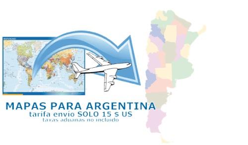 ventas mapas argentina
