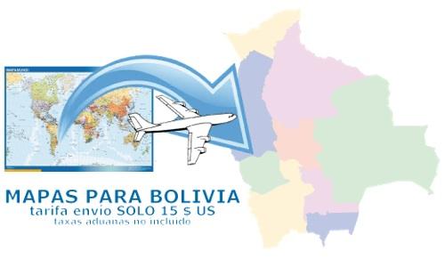 ventas mapas bolivia