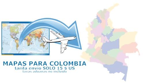 ventas mapas colombia