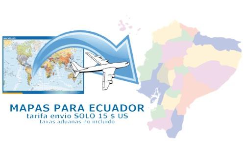 ventas mapas ecuador
