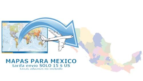 ventas mapas mexico