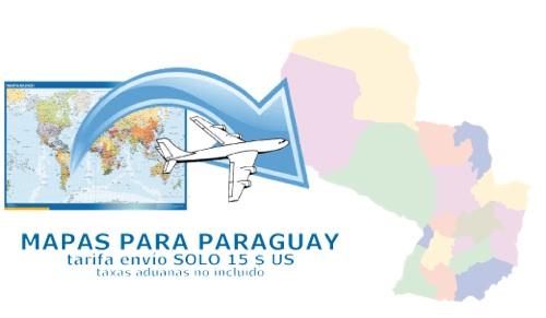 ventas mapas paraguay