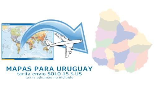 ventas mapas uruguay