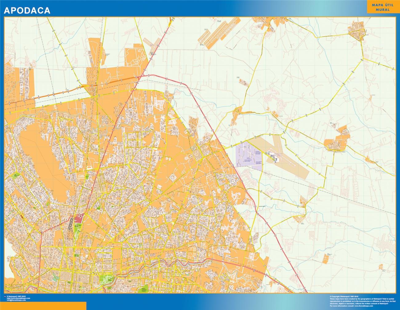 mapa Apodaca