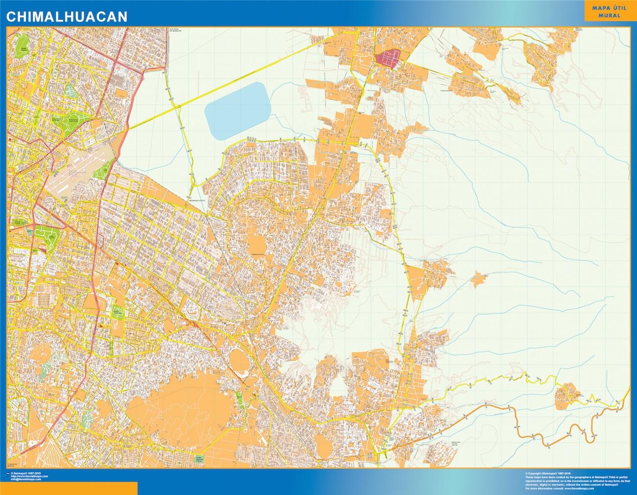 mapa Chimalhuacan
