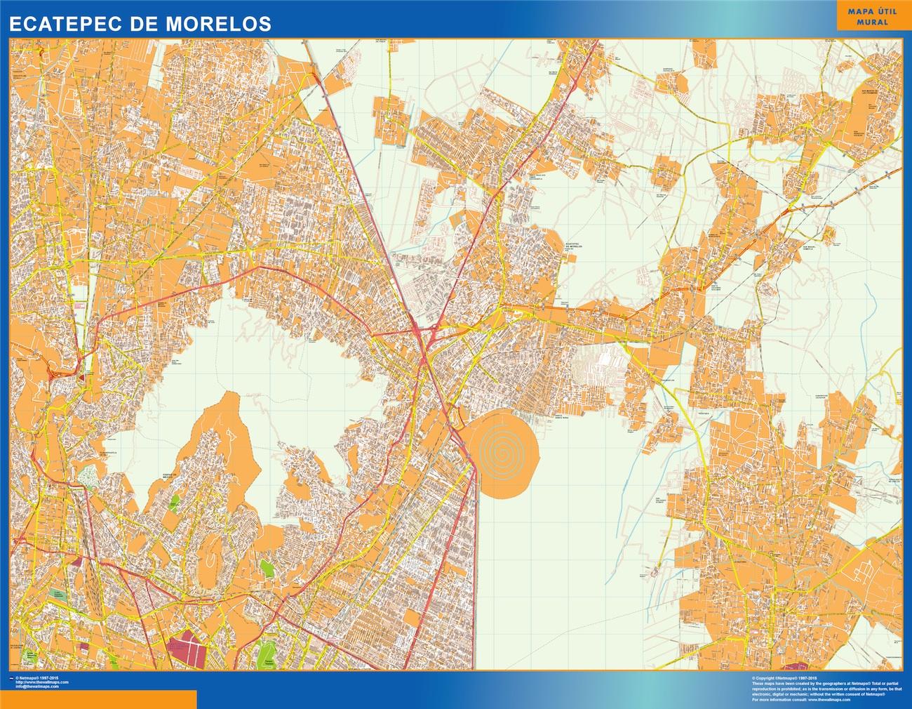 mapa Ecatepec de Morelos