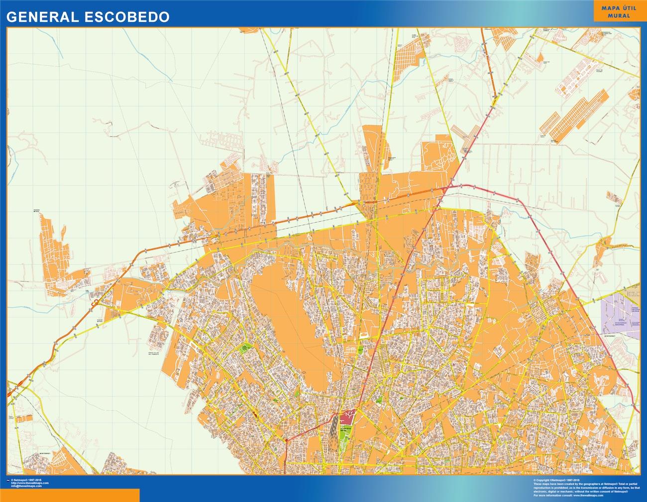 mapa General Escobedo