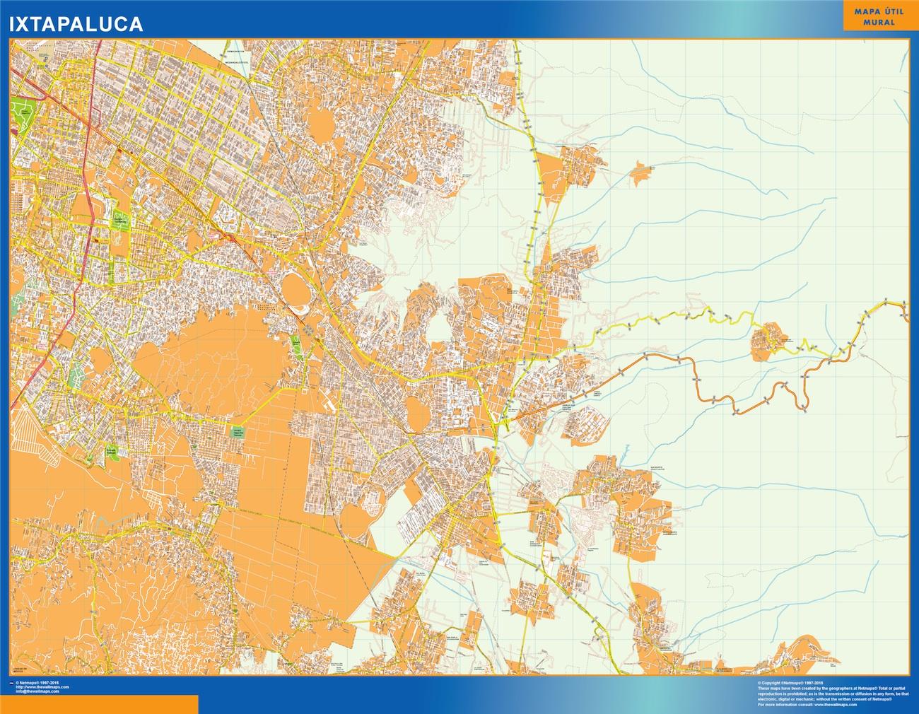 mapa Ixtapaluca