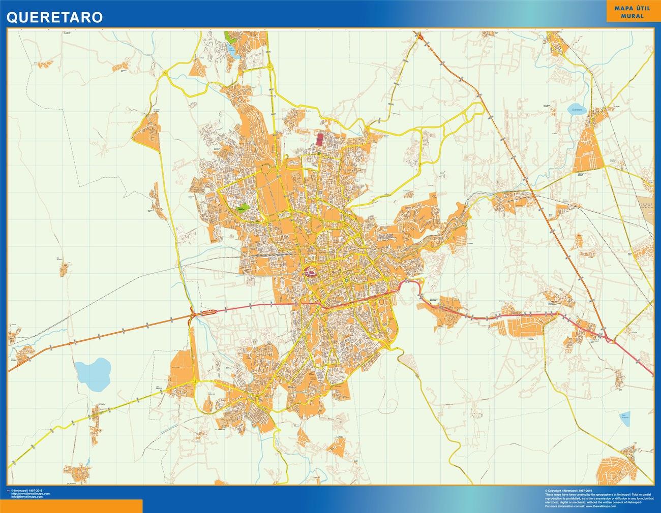 mapa Queretaro