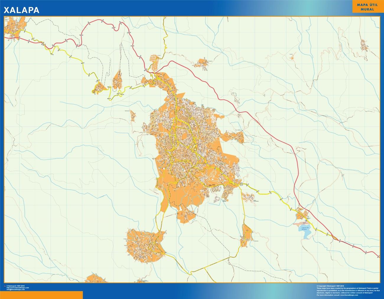 mapa Xalapa
