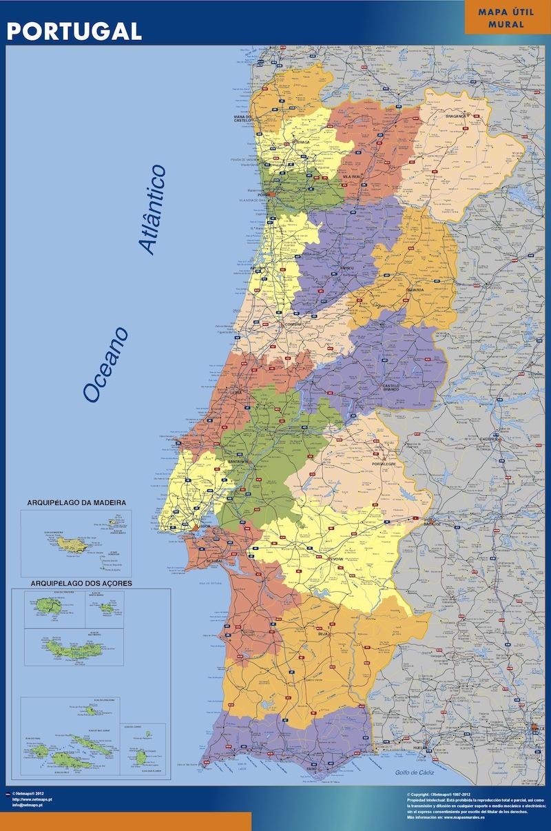 comprar mapa de portugal donde comprar mapas en Mexico | Mapas México y Latinoamerica   Part 5 comprar mapa de portugal